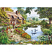 Games Meadow Farm 1000 Pieces Jigsaw Puzzle