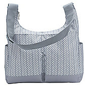 Ryco Baby Changing Bag (Hobo Herringbone Grey)