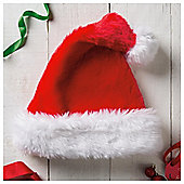 Tesco Plush Hat Christmas Decoration