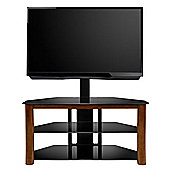 BellO TP-4501 Dark Cherry Wood TV Stand