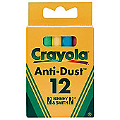 Crayola - 12 Anti-Dust Chalk - Colour