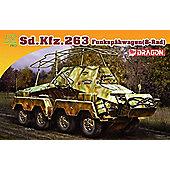 Dragon - Sd.Kfz.263 Funkspahwagen 8 Rad - Scale 1/72 DR7444