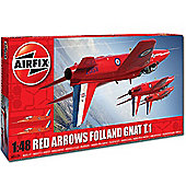 Airfix A05124 Red Arrows Gnat 1:48 Aircraft Model Kit