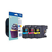 Brother LC123 Printer Ink - Tri-Colour
