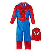 Rubies Spiderman Premium Muscle Chest Costume Large