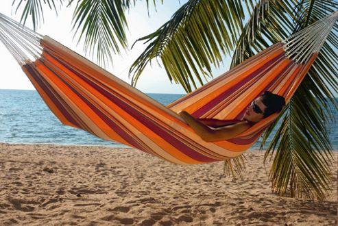 Amazonas Barbados XL Hammock in Prosecco