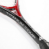 MANTIS Titanium Comp Squash Racket Intermediate Player with Cover