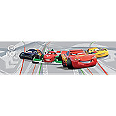 Disney Cars 2 Wallpaper Border