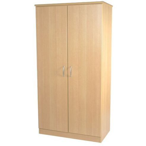 Welcome Furniture Avon 76.2 cm Plain Midi Wardrobe - Beech