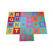 Homegear 26 Piece Jigsaw Eva Foam Tiles Alphabet Kids Play Mat