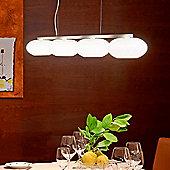 Casablanca AIH 3 Light Pendant - Matte Cream