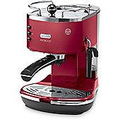 Delonghi ECOM310.R Icona Micalite ECOM 310.R Coffee Machine - Red