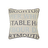 Linea Seaside Towns Cushion New