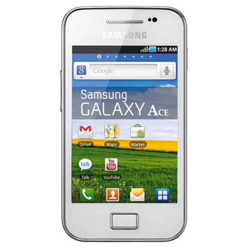 Tesco Mobile Samsung Galaxy Ace White