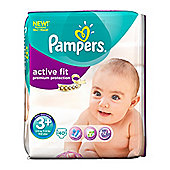 Pampers Active Fit Size 3+ Midi Nappies (5-10kg /11-22lbs) - 40 Pack