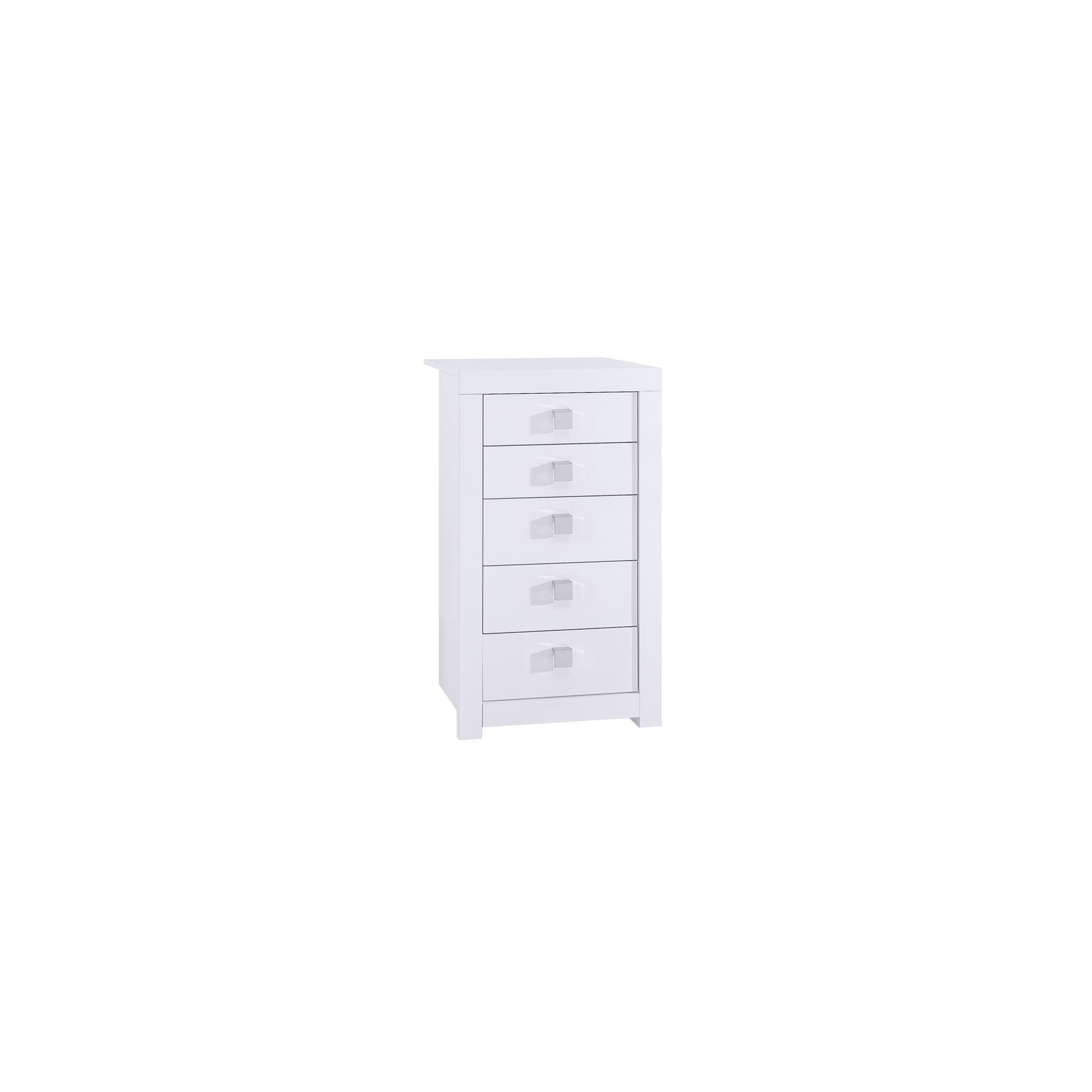 Urbane Designs Palermo 5 Drawer Tall Chest at Tesco Direct