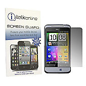 S-Protect LCD Screen Protector & Micro Fibre Cleaning Cloth - HTC Salsa