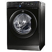 Indesit Innex Washing Machine, XWD 71452X K UK, 7KG load, with 1400 rpm - Black
