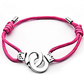 Cuffs of Love Cord Bracelet - Pink Medium