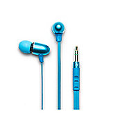 Cool Blue Curvz In-Ear Headphones