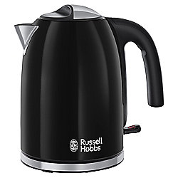 Russell Hobbs 20413 Colours Plus Kettle, 1.7 L - Black