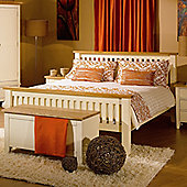 Kelburn Furniture Fanshawe Painted Bed Frame - Single