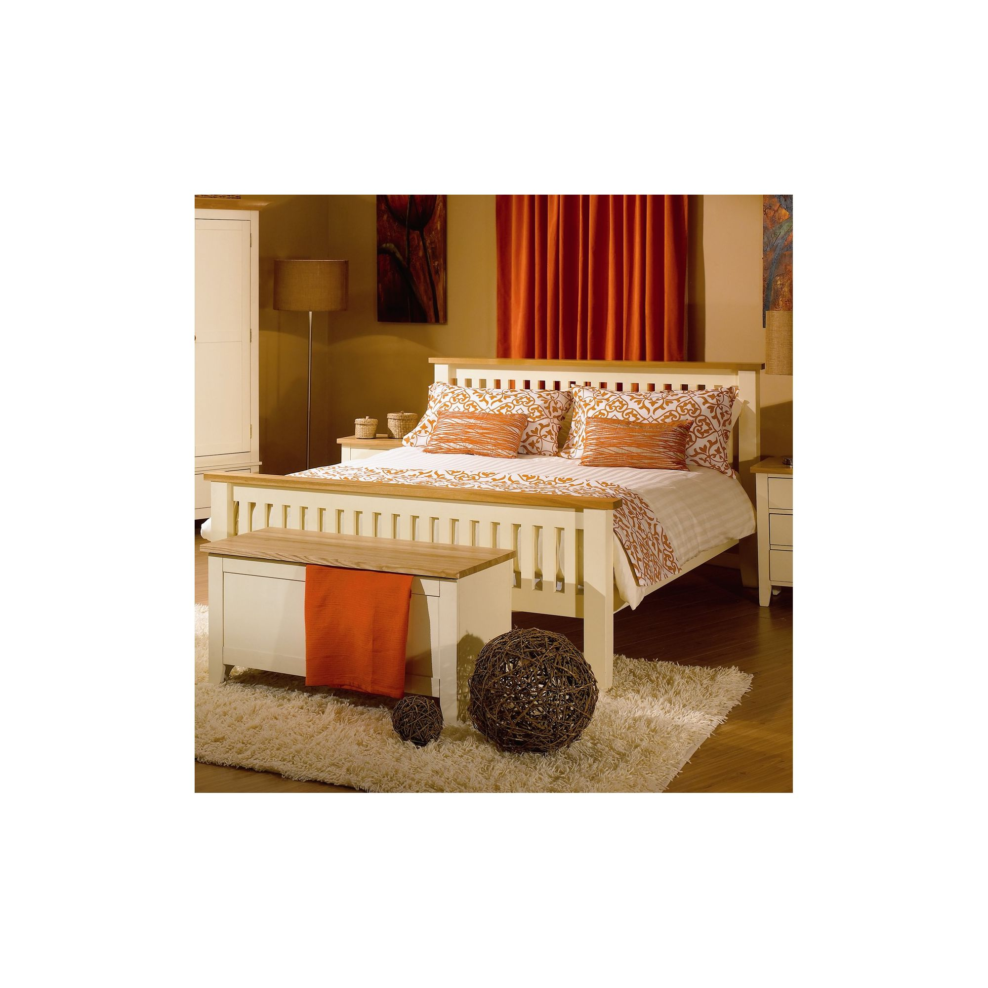 Kelburn Furniture Fanshawe Painted Bed Frame - Single at Tesco Direct