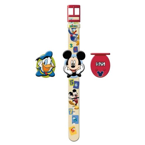 Mickey Mouse Interchangeable Head Watch