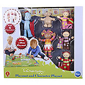 In The Night Garden Figures with playmat