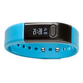 Denver BFA-10C Blue Bluetooth Fitness Tracker Band Watch