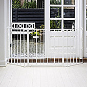 BabyDan Configure Gate Medium White
