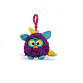 Furby Wild Colours 8cm Keychain With Sound Purple