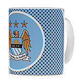 Manchester City Bullseye Creamic Drink Coffee Mug Cup