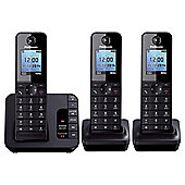 Panasonic KX - TGH223EB Triple Phone
