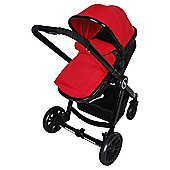 Red Kite Fusion Push Me Travel System, Chilli