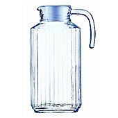 Luminarc Glass Quadro Fridge Jug, 1.7 Litre