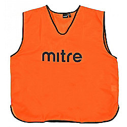 Mitre Pro Football Training Bib - Small - Orange