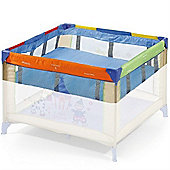Hauck Travel Cot Basinette Square 2nd Floor 96 x 96cm - Blue