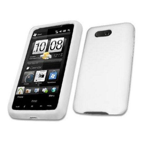 iTALKonline SoftSkin Silicone Case White - For HTC HD Mini White