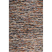 InRUGS River Grey Rust Mix Woven Rug - 290cm x 200cm (9 ft 6 in x 6 ft 6.5 in)