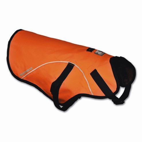 Ruff Wear Track Dog Jacket? in Blaze Orange - Large (81cm - 122cm W)