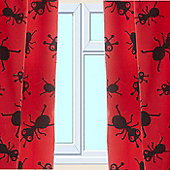 Creepy Crawlies Curtains 72s - Multi