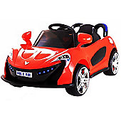 Kids Super Sports Ride On Car With Remote Control - Red