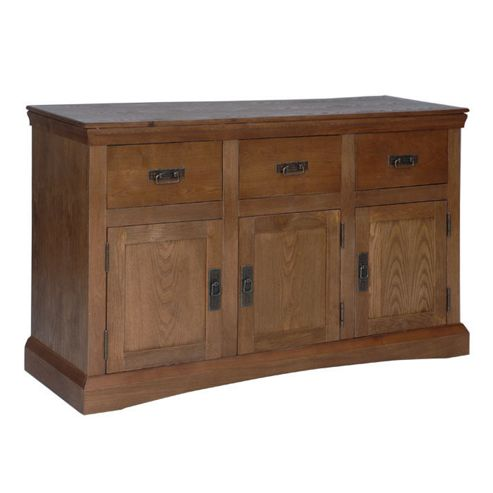 Home Essence Paris 3 Door 3 Drawer Sideboard