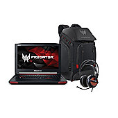 "Acer Predator G9-591 15.6"" Intel Core i5 16GB RAM 128GB SSD 1TB HDD FHD 1080P Black Laptop Gaming Bundle with Backpack and Headset"