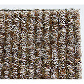 Dandy Stayfast Beige Runner Contemporary Rug - Runner 60cm x 180cm