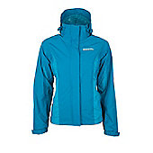 Gust Womens Waterproof Raincoat Rain Shower Proof Anorak Mac Rain Coat Jacket - Aqua