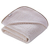 Clair de Lune Luxury Hooded Towel (Waffle Cream)