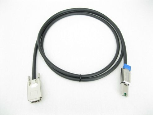 Hewlett-Packard Smart Array P800 SAS SAS 4x to Mini SAS 4x 1M Cable