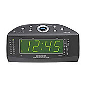 Roberts Chronoplus2 FM/MW Dual Alarm Clock Radio with Instant Time Set